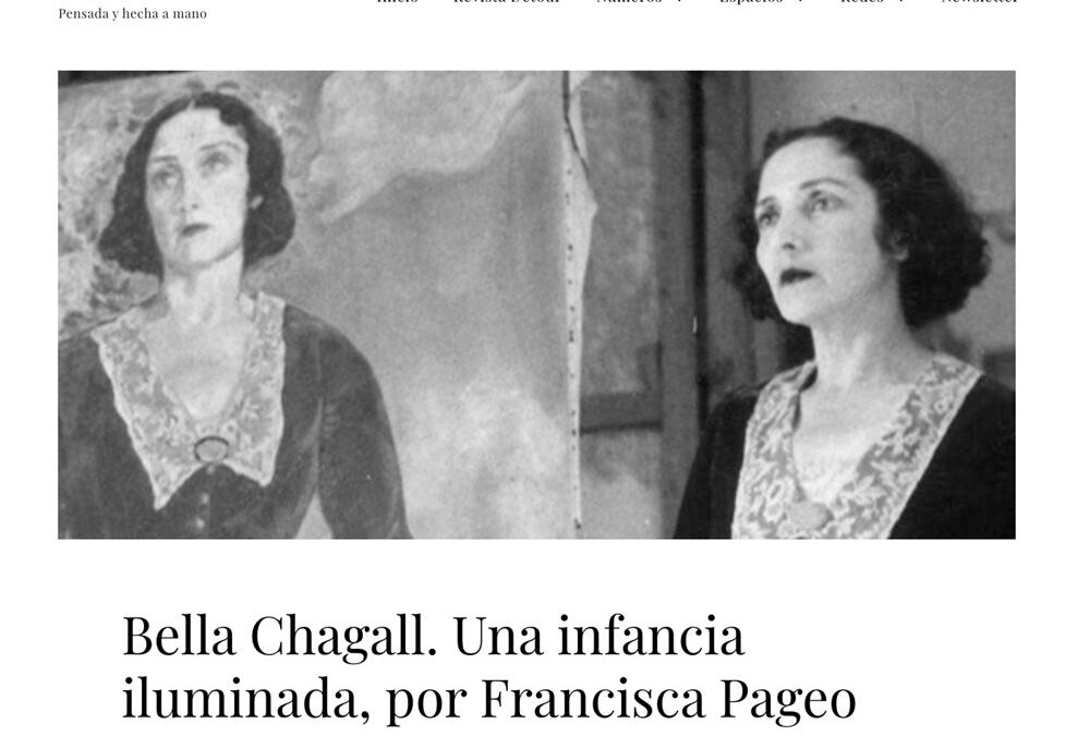 Bella Chagall. Una infancia iluminada. Francisca Pageo. Revista Détour