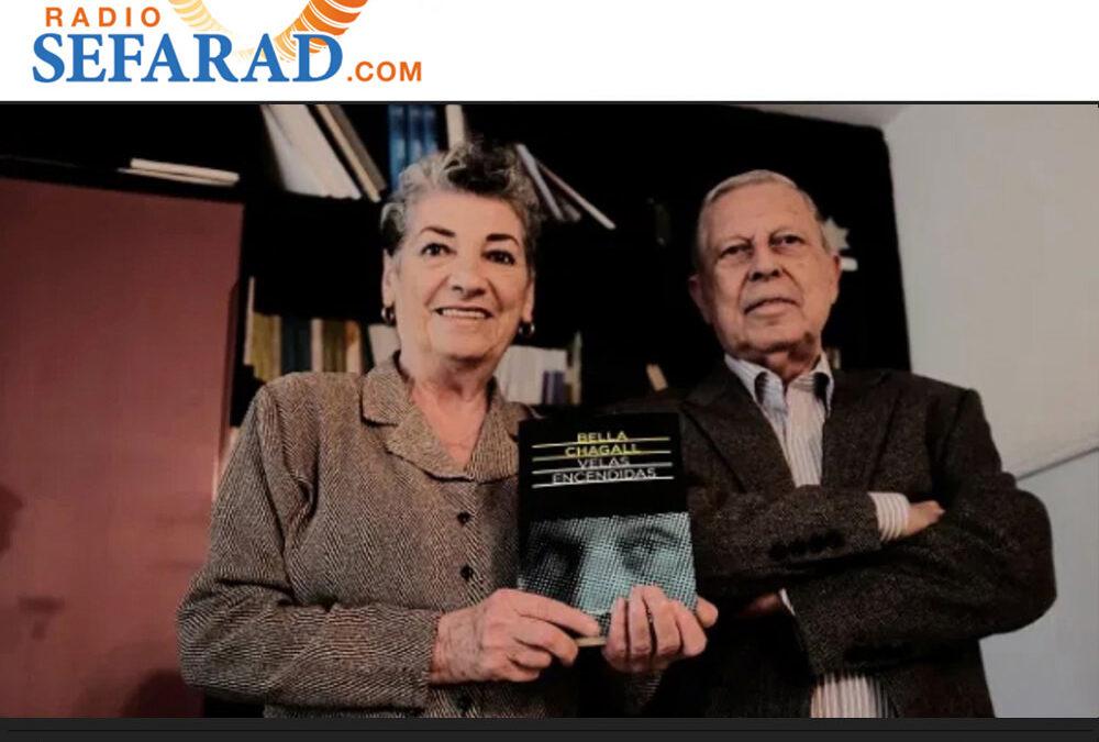 """Entrevista """"Velas encendidas"""" de Bela Chagall, con Rhoda Henelde y Jacob Abecasís"""