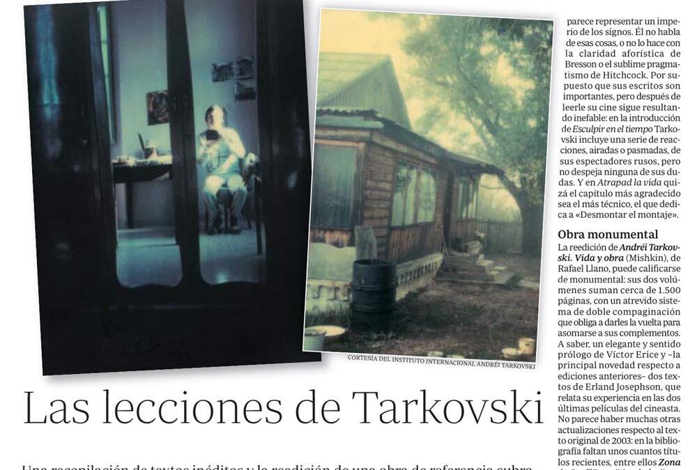 Las lecciones de Tarkovski Antonio Weinrichter. ABC Cultural