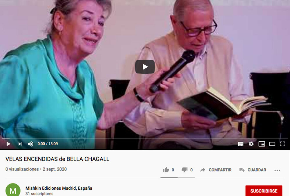 Presentación del libro «Velas Encendidas» de Bella Chagall